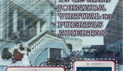Cartel jornada puertas abiertas 2021 cuadrado