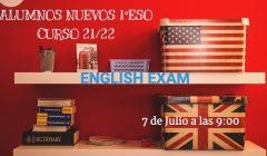 2021 examen inglés alumnos nuevos 1ºESO