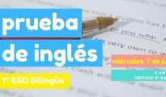Prueba inglés acceso bilingüe 2021
